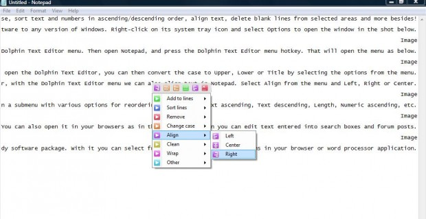Dolphine Text Editor 4