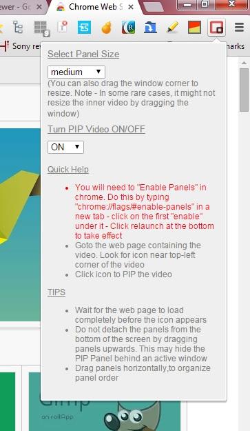 Pip video mode2