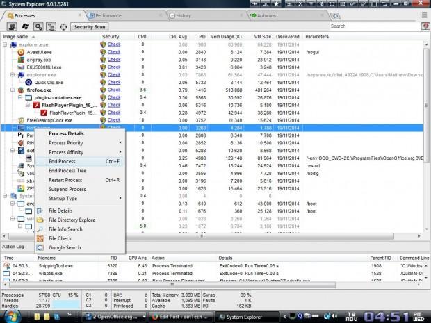 System Explorer4