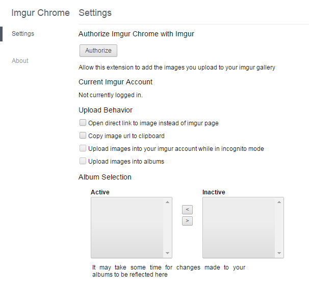 Upload to Imgur in context menu Chrome b