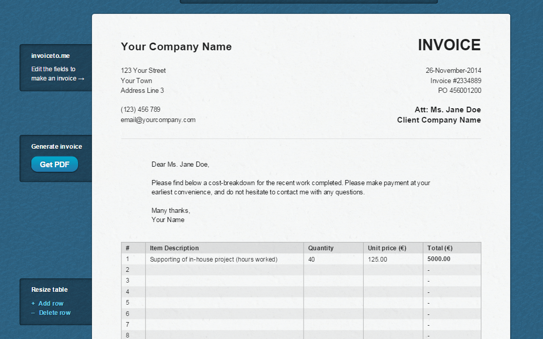 how to create an invoice online tip dottech