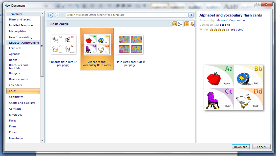 How To Make A Birthday Card On Word 2007 Using