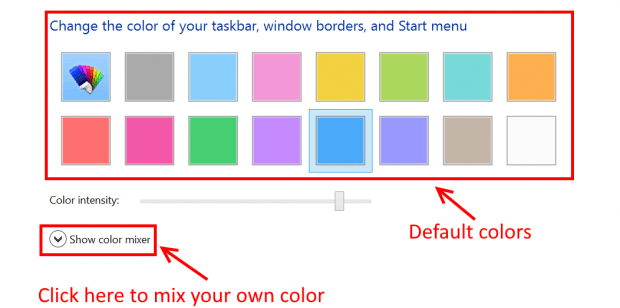 how to change menu colour in muse