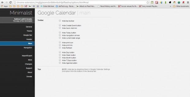 Google Calendar extension3