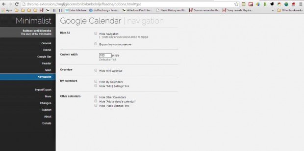 Google Calendar extension4