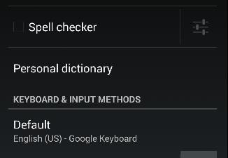 Google Keyboard dedicated number row