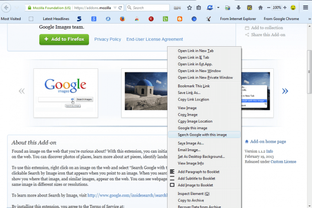 how to add google search in firefox