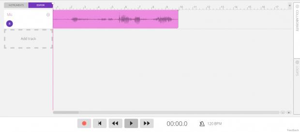 Soundtrap for Chrome d