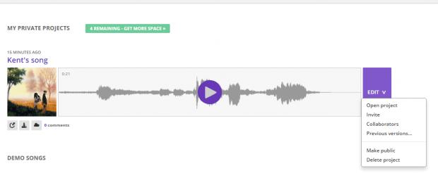Soundtrap for Chrome e