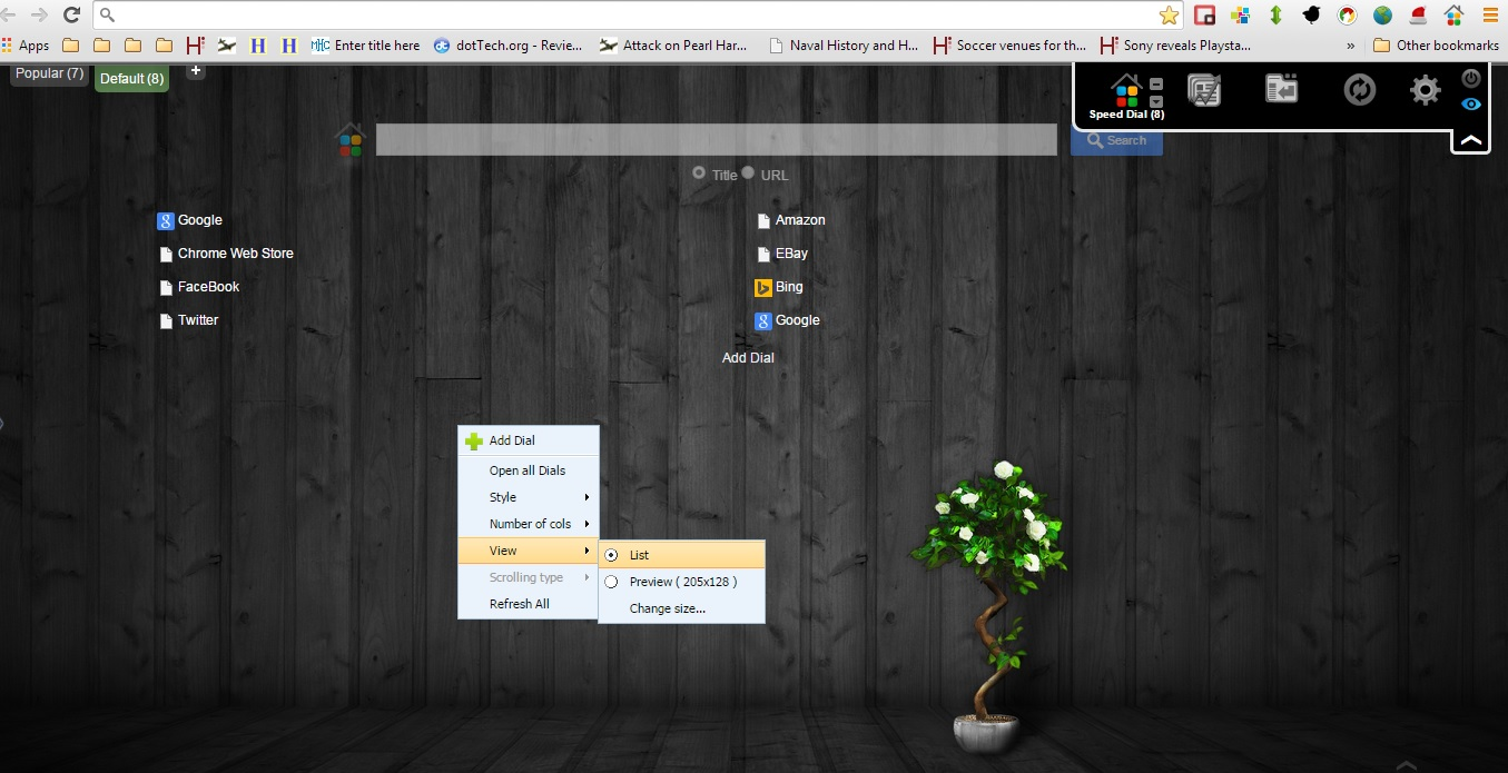 How to add a 3D speed dial and app page in Chrome [Guide