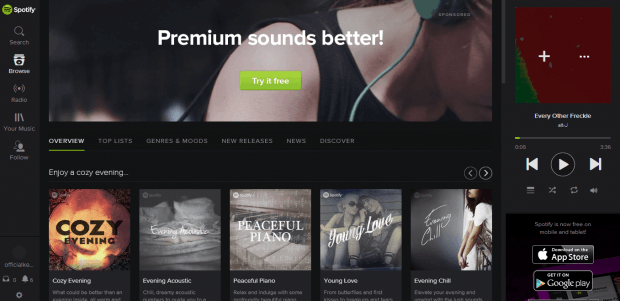 Spotify Web Player Hotkeys b