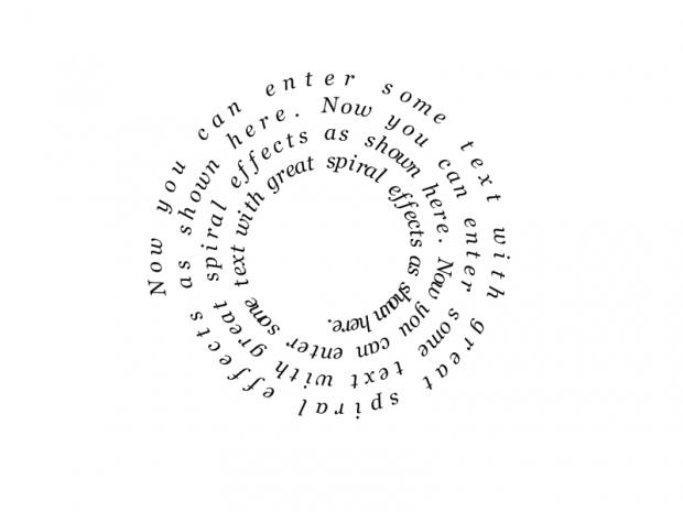 Text Spiral4