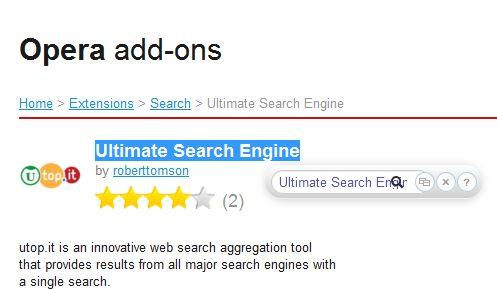 Ultimate Search Engine4