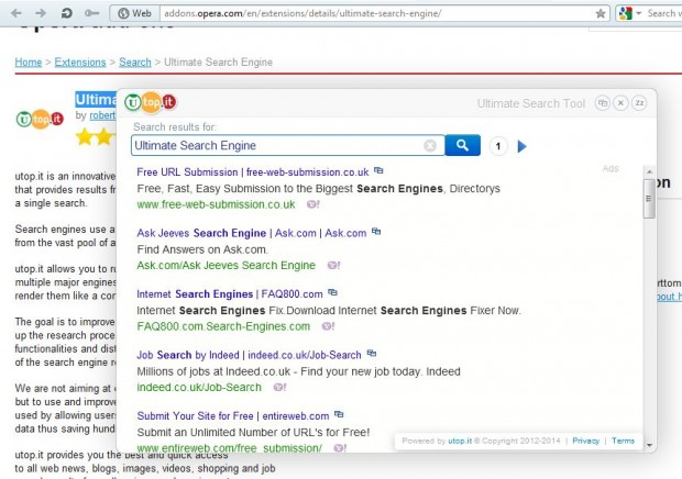Ultimate Search Engine5