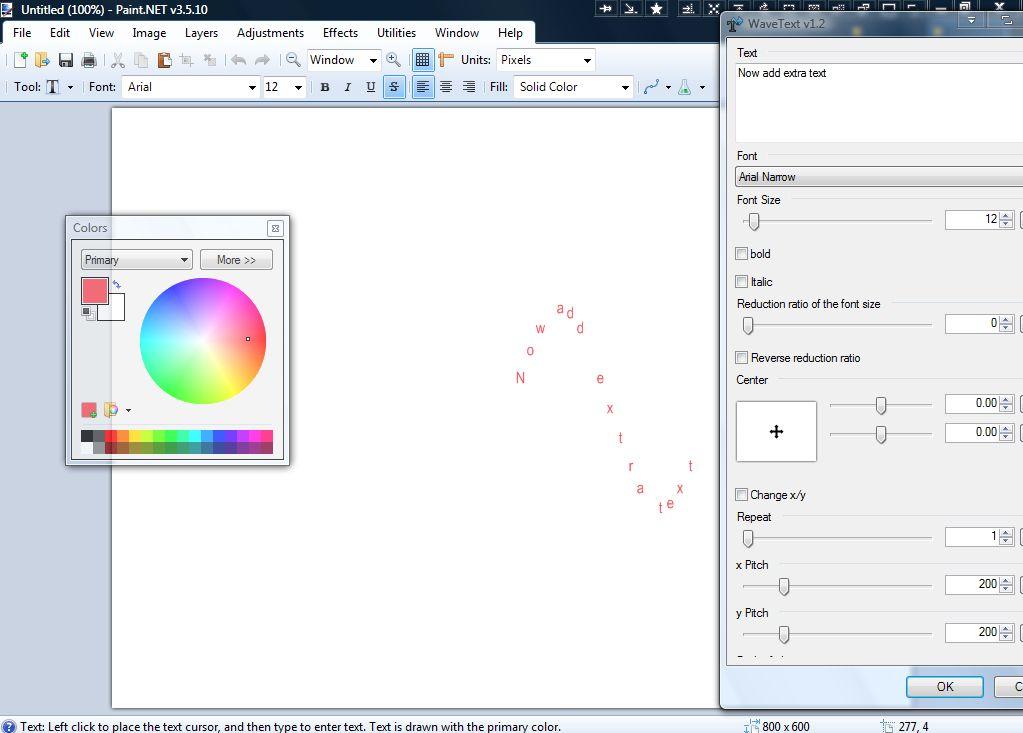 Flatten Colors Paint Net