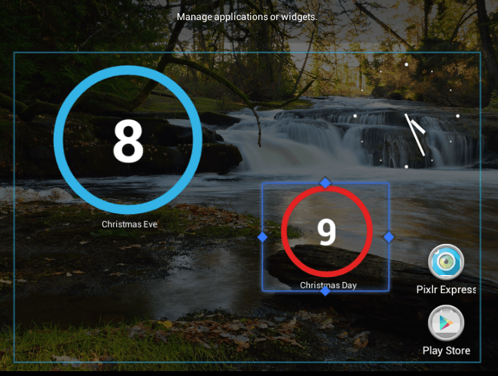 How To Add A Countdown Widget To The Android Home Screen Tip Dottech