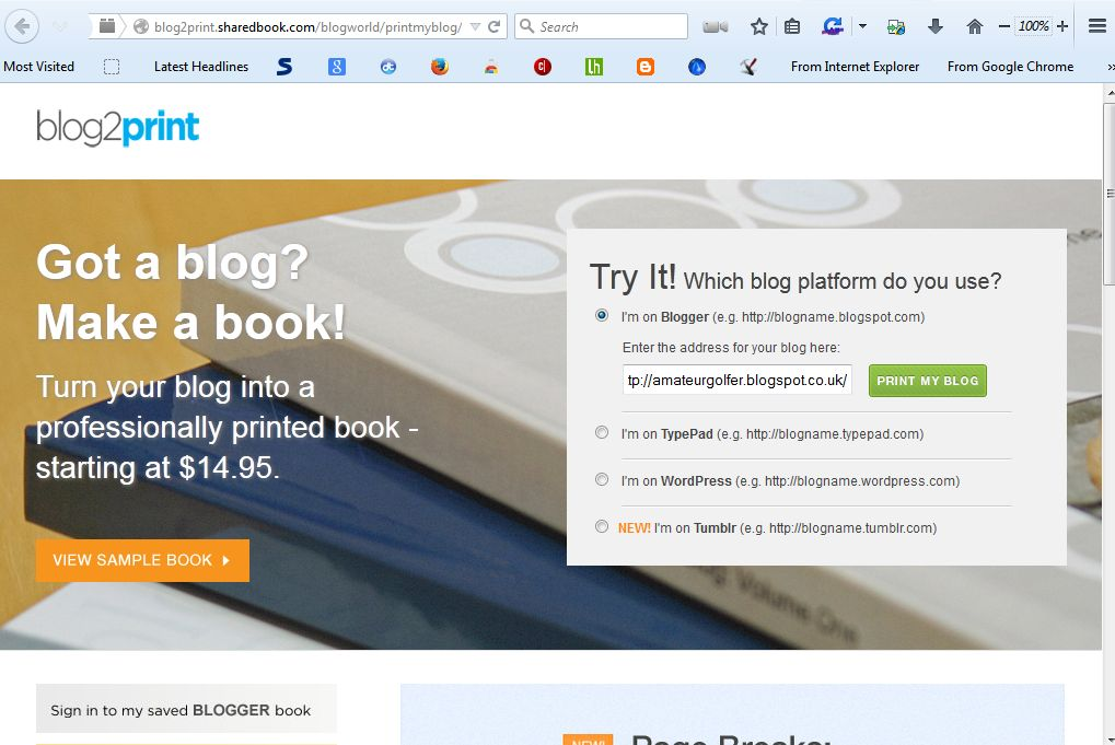how to turn a blog into a book automatically [tip] | dottech