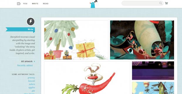 create a digital story book in Chrome b