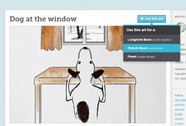create a digital story book in Chrome c