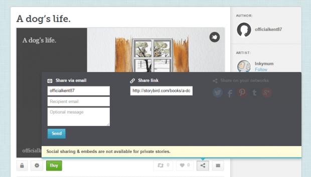 create a digital story book in Chrome f