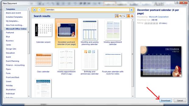 Calendar Design Word : How to create a custom calendar in ms word guide