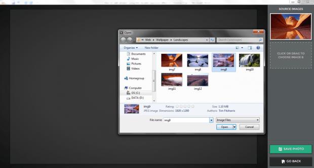 double exposure effect photos Chrome c