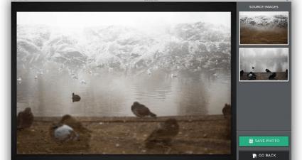 double exposure effect photos Chrome e