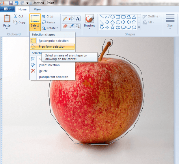 how to make a transparent background in paint net