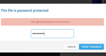 send large files with password expiration date c