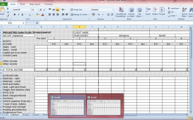 Excel document3