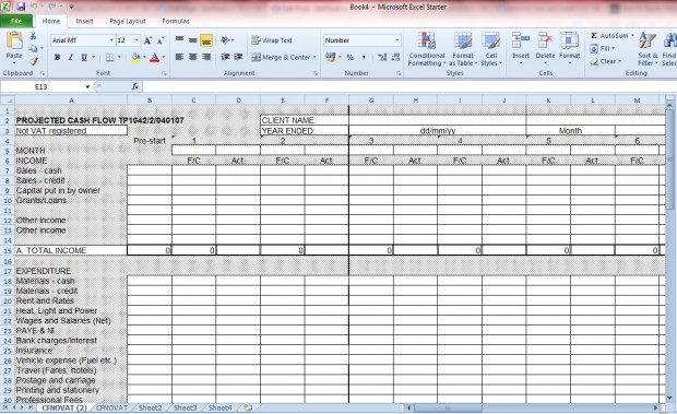 Excel document4