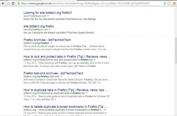 Site search3