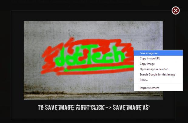 create graffiti online c