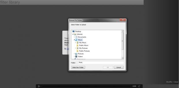 play local music files Chrome b