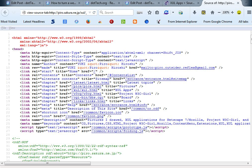 How to view website source code in new tab in Firefox [Tip ...