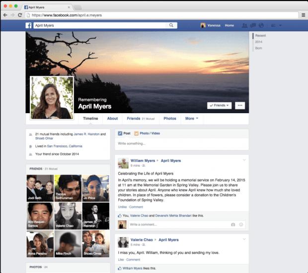 Facebook Legacy Contact b