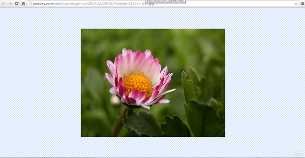 Image to Center Chrome c