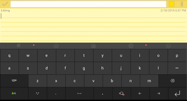 Japanese keyboard for Android d