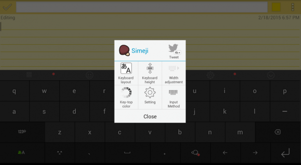 Japanese keyboard for Android e