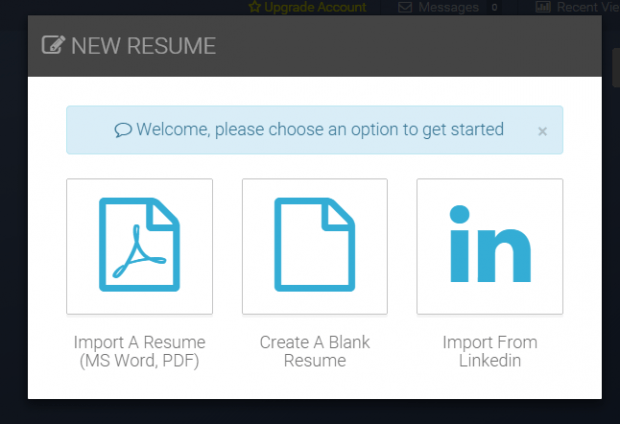 how to create a professional resume for free