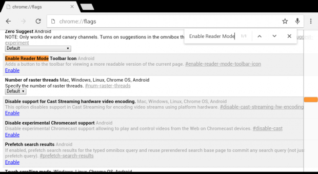 Reader Mode Chrome Android