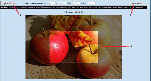 censor photo online