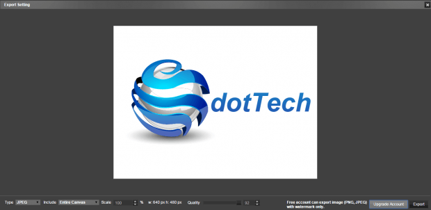create vector logo in Chrome g