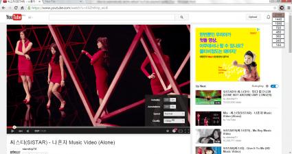 custom playback quality YouTube Chrome c