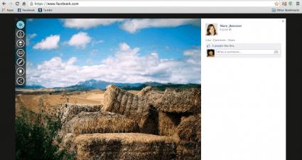 edit facebook photos in Chrome c