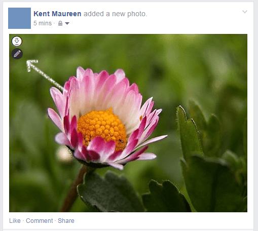 edit facebook photos in Chrome