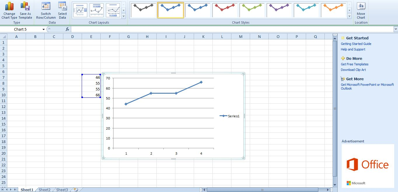 How to add gridlines to excel graphs tip dottech excel gridlines ccuart Gallery