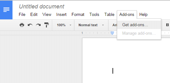 install uninstall add-ons in Google Docs b