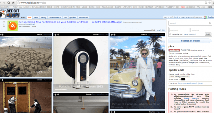 view Reddit images like a gallery c