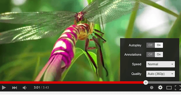 how to make youtube videos play automatically